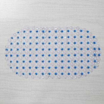 戴威尔 36X67CM  圆角防滑垫(浅蓝)
