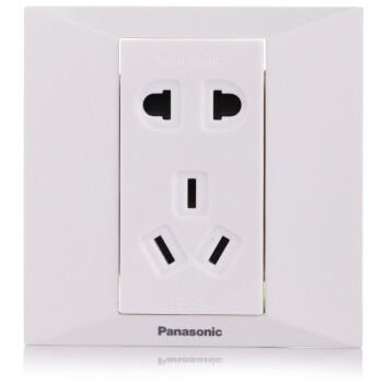 Panasonic 松下 简尚系列 五孔插座面板 WMW122