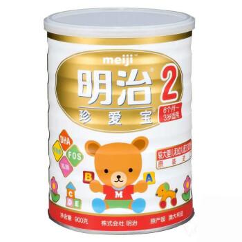 Meiji 明治 珍爱宝 2段 婴儿配方奶粉 900克*4罐