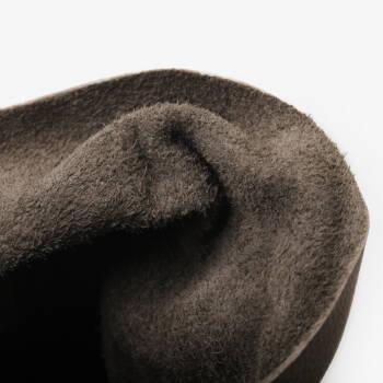 冬款新品复古怀旧平底系带小短靴及踝靴11241110