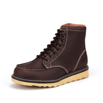 Skechers 斯凯奇 英伦时尚工装男靴