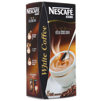 【新老包装交替中】 Nestle雀巢白咖啡条装145g