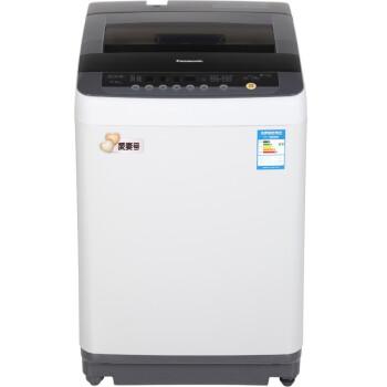松下(Panasonic)XQB75-H77401 7.5公斤全自动波轮洗衣机 泡沫净技术 十段水位 节水立体漂 (灰色)