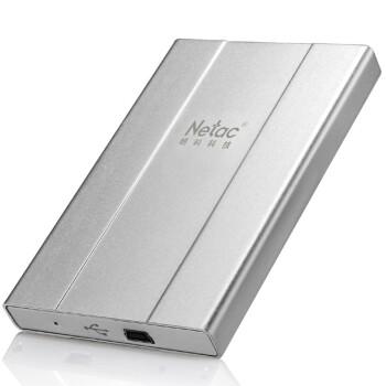 名片大小的移动硬盘:NETAC 朗科 K135(1.8寸、120GB)