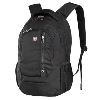 Swisswin瑞士十字涤纶时尚休闲双肩电脑包