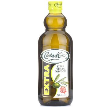 意大利 Costad'Oro 甘蒂 特级初榨橄榄油750ml 23.8元