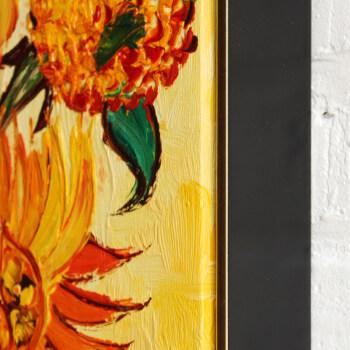 雅工坊纯手绘油画梵高向日葵