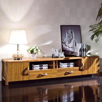 美乐乐家具 帝轩 地柜 电视柜 实木地柜 中式风格电视图片