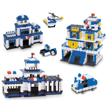 七巧匠3d积木 儿童拼装玩具