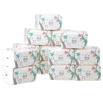 洁云 漫步森林200抽塑包面纸小幅促销装-16包装