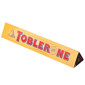 Toblerone 瑞士三角 黑巧克力含蜂蜜及奶油杏仁 100g+50g*2