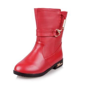 富罗迷儿童雪地靴 女童靴子