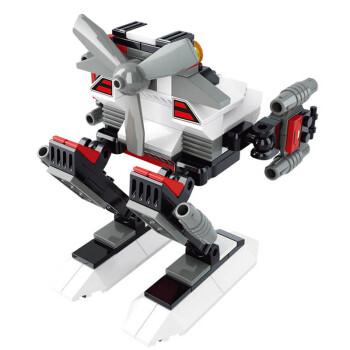 乐高式积木拼装机器人模型