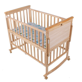 Goodbaby 好孩子 MC280-J312 多功能环保实木婴儿床 带滚轮 403.4元包邮