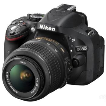 Nikon 尼康 D5200 单反套机(39点对焦、2016像素测光、5fps连拍)
