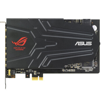 华硕(ASUS) Xonar Phoebus 华硕ROG系列顶级游戏声卡套包(PCI-E声卡+音效控制盒)