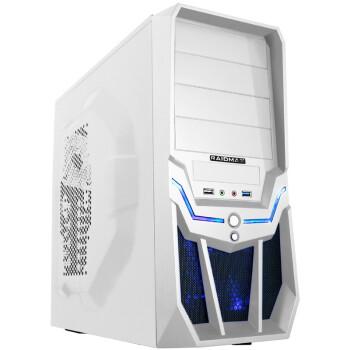 RAIDMAX雷德曼 飓风 中塔式机箱(下置电源/原生USB3.0/背板走线/免工具设计)象牙白