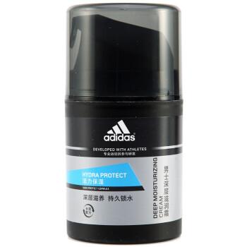 adidas 阿迪达斯 男士活力保湿 深层滋润霜 50g