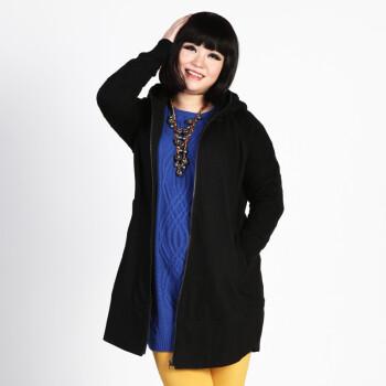 v2012秋冬女装新款 胖人女装大码胖mm外套羊毛大衣