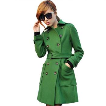 军绿色小西装搭配图