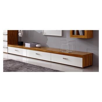新悦 电视柜k256 电视墙柜组合地柜电视机柜矮柜 橄榄