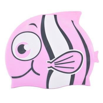 儿童卡通可爱小鱼游泳帽