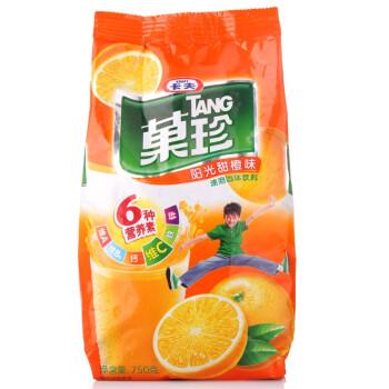 果珍阳光甜橙袋装750g