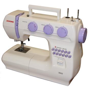 日本真善美 JANOME电动多功能缝纫机超值经典款3022型