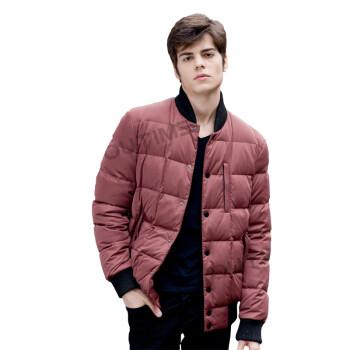 正品时尚休闲男士短款修身羽绒服外套加厚保暖