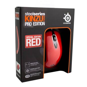 新低价:SteelSeries 赛睿 Kinzu v2 Pro 光学游戏鼠标 高雅红