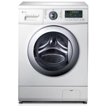 LG WD-A12411D 滚筒洗衣机(8kg、DD变频、烘干)