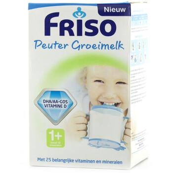 Friso 荷兰美素 幼儿成长奶粉(1+段,1-2岁,700g盒装)
