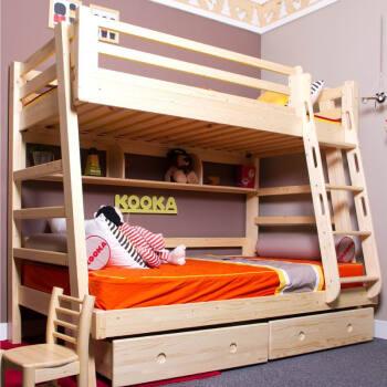 松果儿童家具 1.2/1.0组合上下床