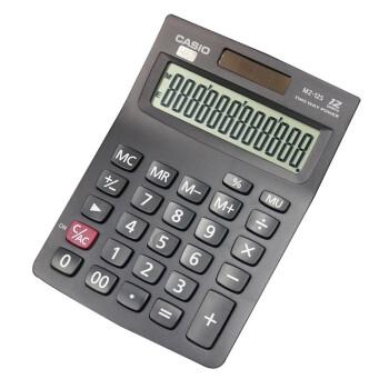 官方旗舰店:卡西欧CASIO MZ-12S 商务计算器 经智系列 ¥9.9