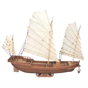 手工制作船的模型零件