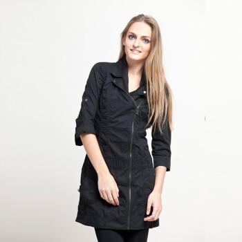 ESPRIT埃斯普利特女装休闲长袖连身裙外套XE0267F L 165 70A 38图片