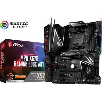 微星 (MSI) MPG X570 GAMING EDGE WIFI主板+AMD 锐龙9 3950X处理器(r9)板U套