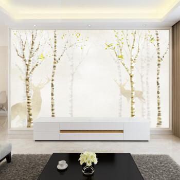 简欧电视背景墙布3d立体装饰画5d客厅影视墙壁布8d电视背景墙壁画定制