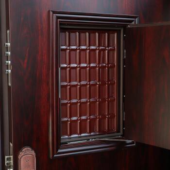 楼龙 通风防盗门 甲级安全门 入户门 子母门 钢制大门 C级锁芯 可配智能锁(型号:福双) 标准门2050*960右外开