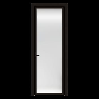 索菲亚木门 朗格铝合金门 室内玻璃门黑框平开门厨房门 阳台隔断门 卫生间门 全屋定制门 元/平方米(单包门套+门扇+8m