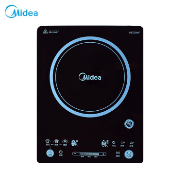Midea induction furnace RH2275 household 2200W power pool induction furnace uniform fire touch rapid heat explosion frying