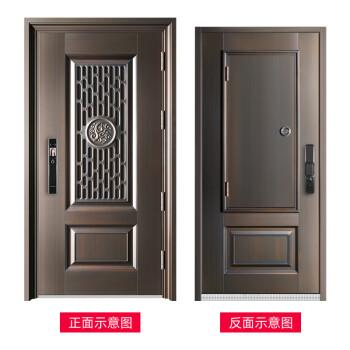 JIDUOLI防盗门甲级家用通风窗安全门入户门进户门子母门中门可以定制大门单门 测量定金(拍前联系客服)