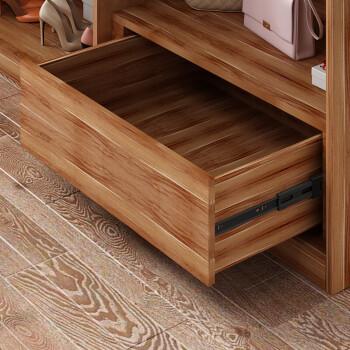 A家家具 衣柜 现代简约木质板式趟门衣柜 北欧卧室家具推拉门衣柜 1.6米大衣橱 A0416S-160