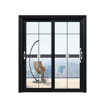 盼盼木门 厨房阳台推拉门钛镁合金移门双层中空钢化玻璃浴室门家用定制 PZM-21077不含门套