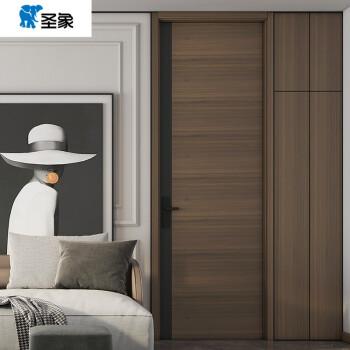 圣象木门 卧室门室内木门实木复合定制木门通顶门 UL002