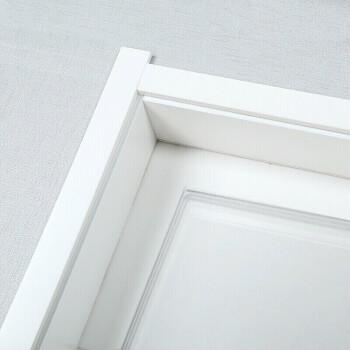 塞纳春天木门卧室门定制房门室内门木质复合烤漆门 木质复合烤漆+外扣线-D404