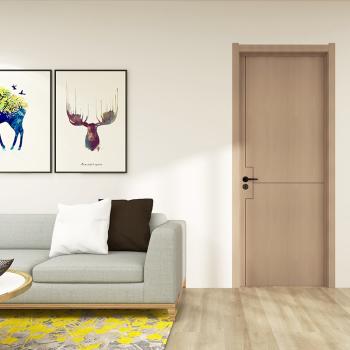 大自然木门室内门房门套装门卧室门无漆门木质复合免漆门#mwp902暖洋 【mwp902暖洋-极光棕】
