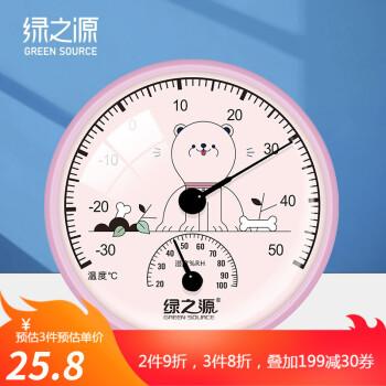绿之源婴儿温湿度计质量怎么样?使用感受