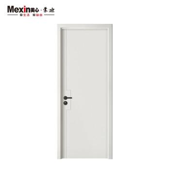 Mexin美心蒙迪木门免漆木质复合低碳无漆简约室内门套装门卧室门房间门N795定制尺寸