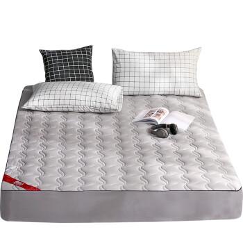 南极人 NanJiren 床笠 可水洗加厚夹棉床罩单件 防尘防滑全包席梦思床垫保护套 180*200cm